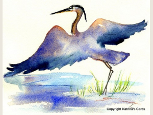 Great Blue Heron Note Card Gift Set