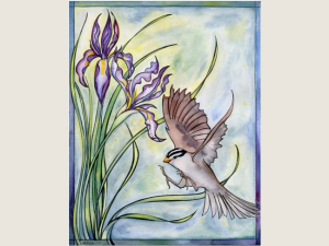 Wild Iris and Sparrow NoteCard Gift Set